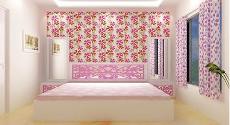 Picture of Genette Kids Bed Roze