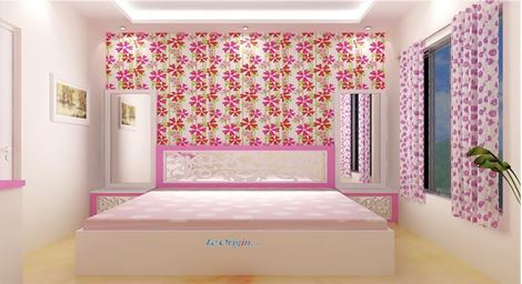 Picture of Genette Kids Bed Blanche