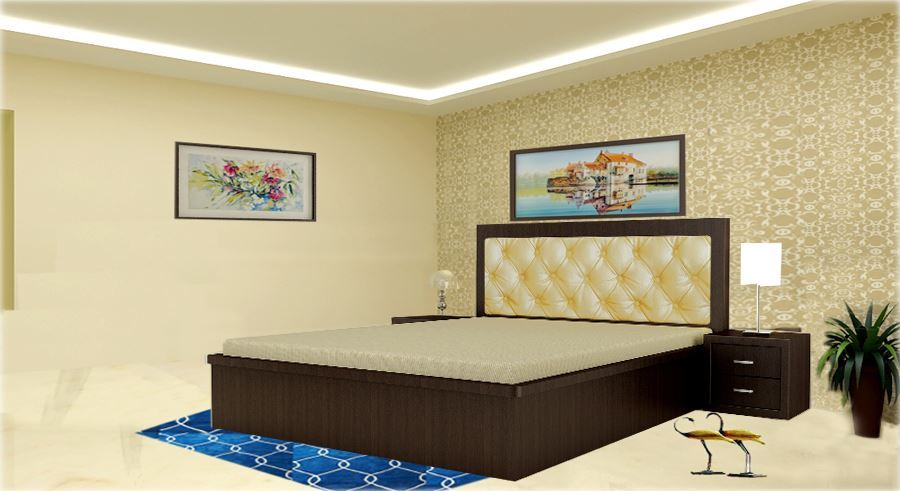 Charmant Get Modern Complete Home Interior With 20 Years Durability..Spencer Double  Bed