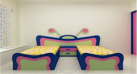 Picture of Somai Kids Twin bed