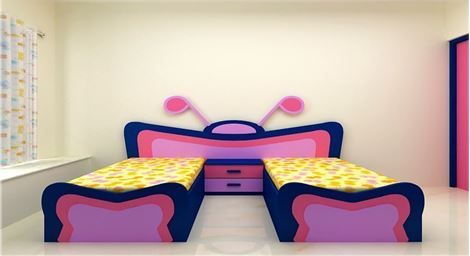 Picture of Romya Kids Twin bed