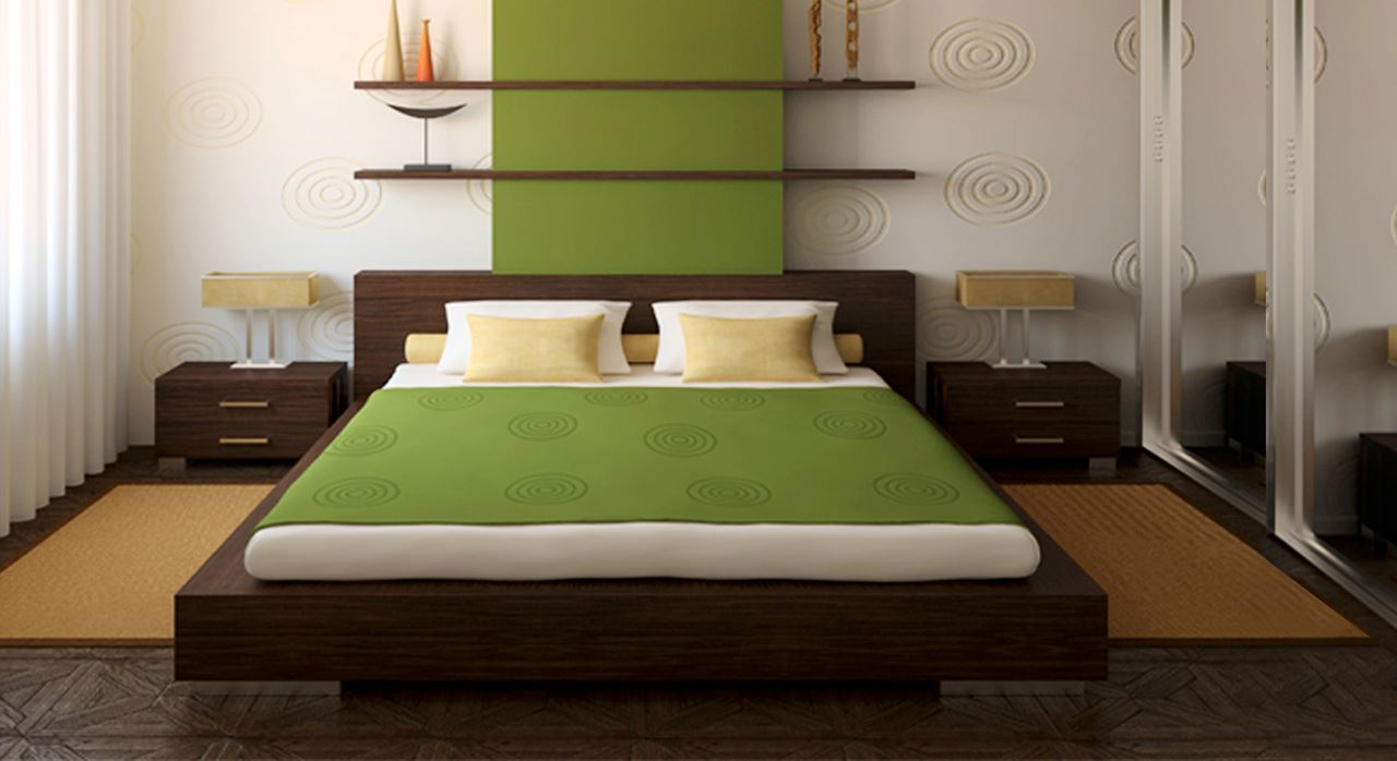 Get Modern Complete Home Interior With 20 Years Durability..Loreti Double  Bed