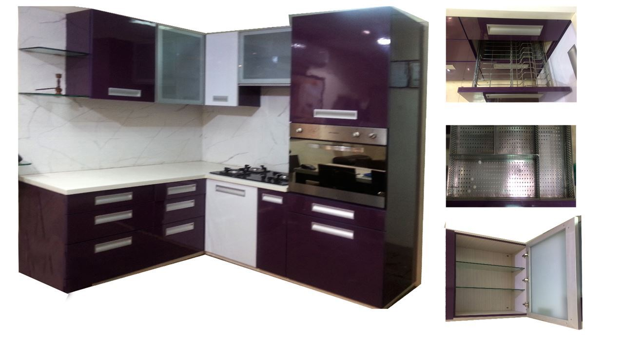 Get modern complete home interior with 20 years durability for Kitchen cabinets sets