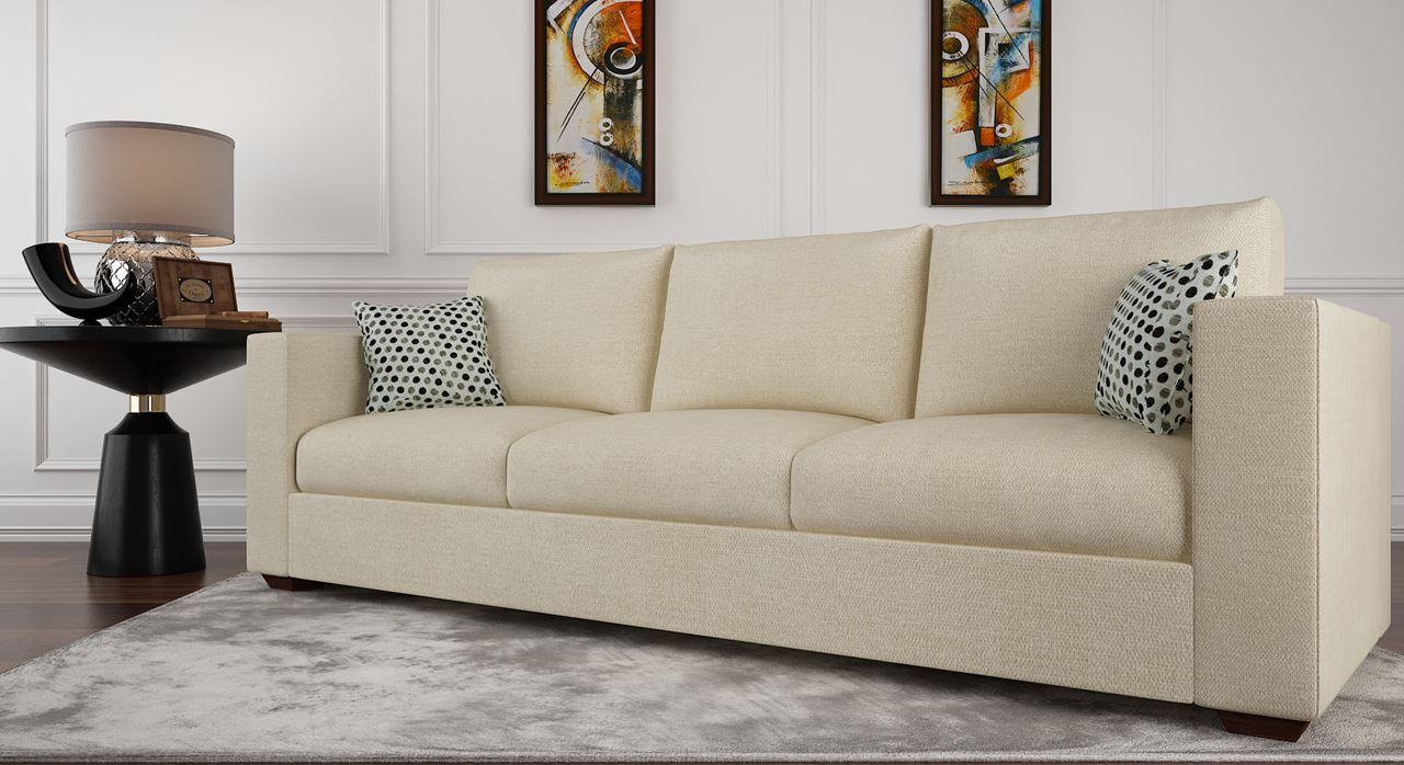 how to clean fabric sofa at home in india