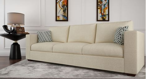 Picture of Loreto Fabric Sofa Beige 3S