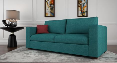 Picture of Loreto Fabric Sofa Turquoise 2S