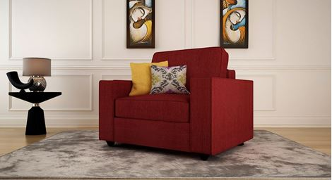 Picture of Aileas Sofa  Rouge 1S