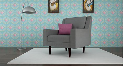 Picture of Chaili Sofa Gris 1S