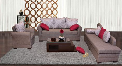 Picture of Loire Sofa Set A`Damier
