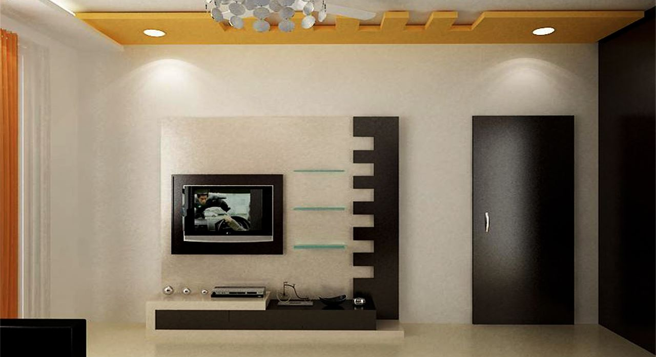 Exceptional Get Modern Complete Home Interior With 20 Years Durability..Lorena TV Wall  Unit