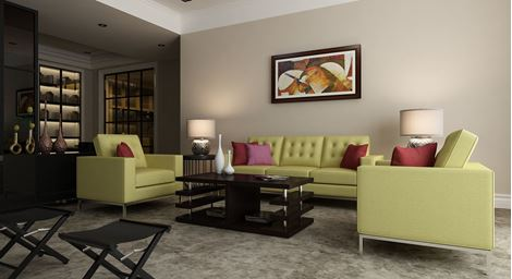 Picture of Silvana Sofa Set Olive