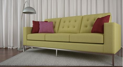 Picture of Silvana Sofa  Olive 3S