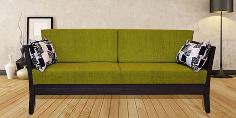 Picture of Teak Wood Sofa Olivier 3S