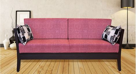 Picture of Teak Wood Sofa Set Rose 3S