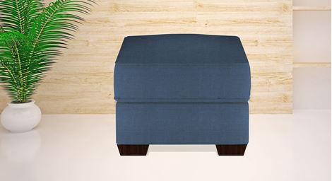 Picture of Appolo Ottoman Bleu