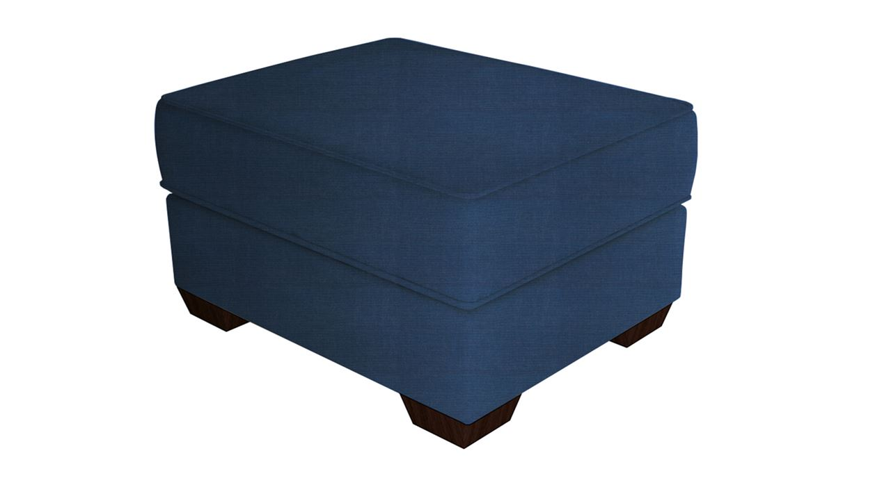 get modern complete home interior with 20 years durability appolo ottoman bleu. Black Bedroom Furniture Sets. Home Design Ideas