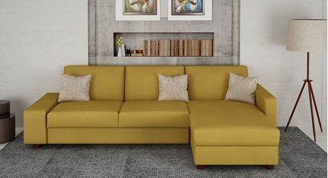 Picture of Emilie Lshape Sofa Doree