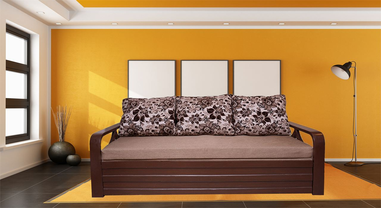 Get Modern Complete Home Interior With 20 Years Durability Alexis Sofa Cum Beds