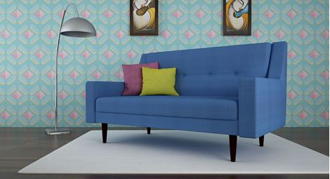 Picture of Chantelle Loveseat Bleu