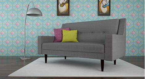 Picture of Chantelle Loveseat Gris