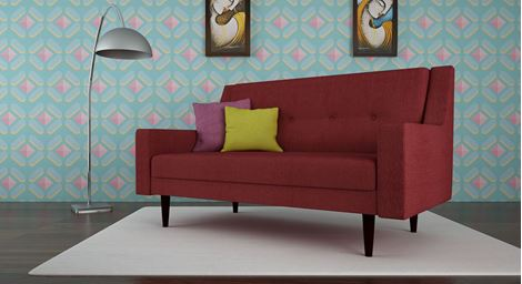 Picture of Chantelle Loveseat Rouge