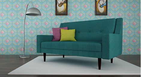 Picture of Chantelle Loveseat Torquoise