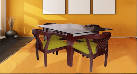Picture of Millo 4 Seat Dining Set Olivier