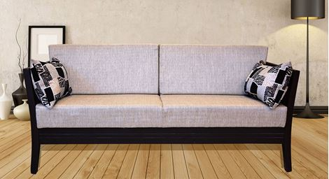 Picture of Teak Wood Sofa Set D'or 3S