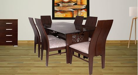 Picture of Straut 6 Seat Dinning set
