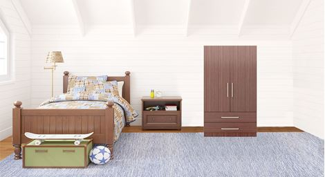 Picture of Charles 2 Door Wardrobe