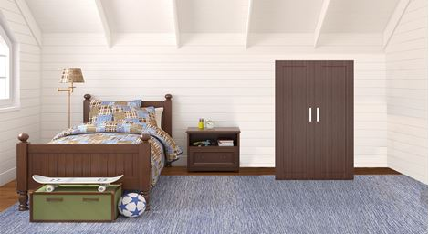 Picture of Donna 2 Door Wardrobe