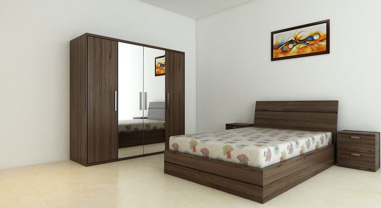 get modern complete home interior with 20 years durability..bed
