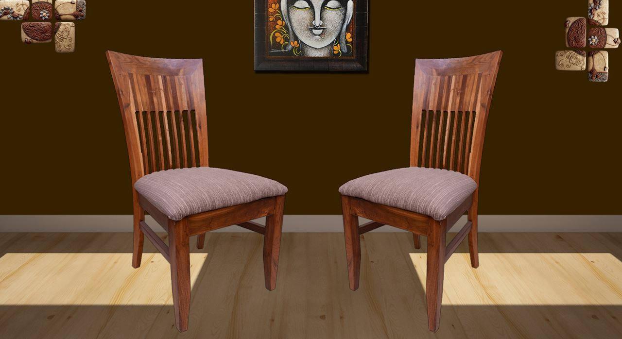 7941e13683a3 Get Modern Complete Home Interior with 20 years durability..teak wood dining  chairs