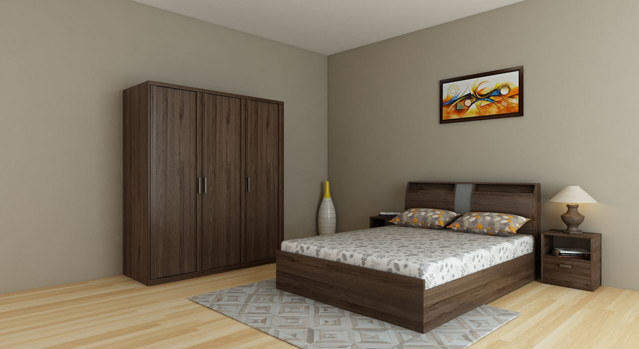 Get modern complete home interior with 20 years durability for Full bedroom interior design