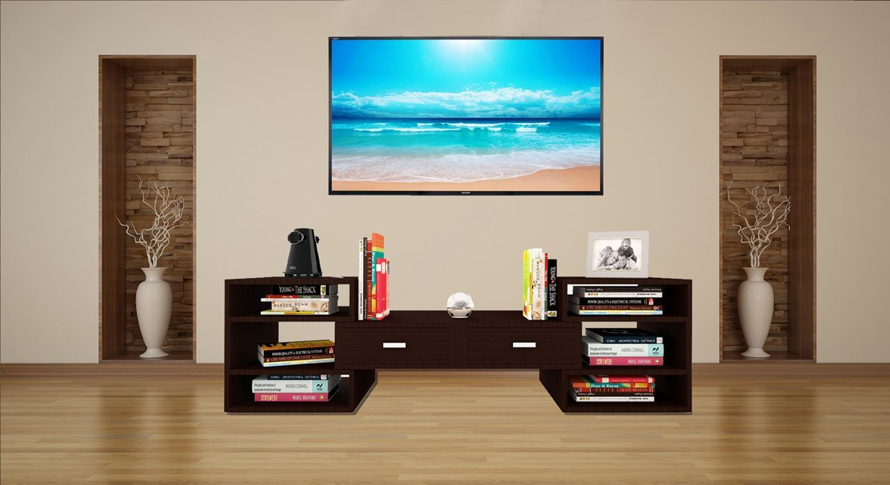 get modern complete home interior with 20 years tv wall unit