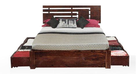 Picture of Jade Queen Storage Bed