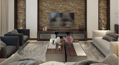 get modern complete home interior with 20 years durability..tv