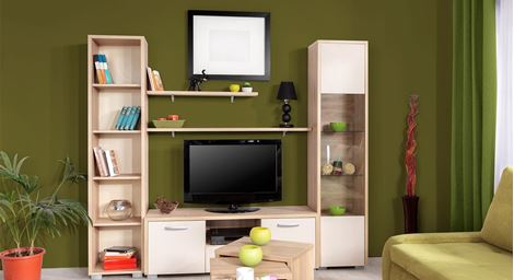 Picture of Clare TV Wall Unit