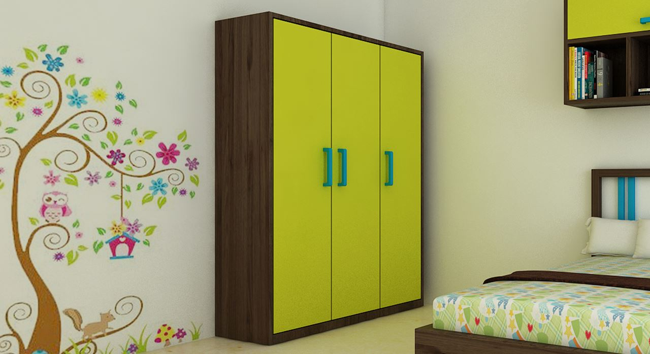 Get Modern Complete Home Interior With 20 Years Durability..Fred Children  Wardrobe
