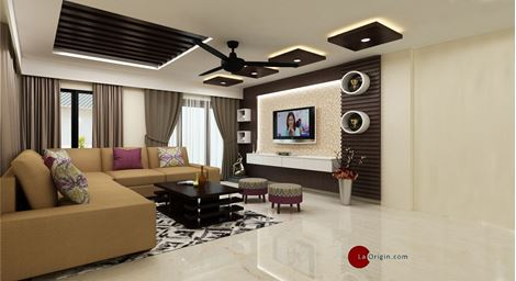 Picture of LUXE_ 3BHK_INTERIOR_EMILY