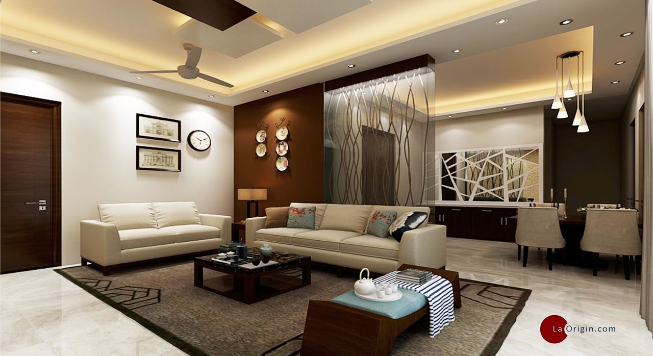 Get modern complete home interior with 20 years durability for 4 bhk villa interior design