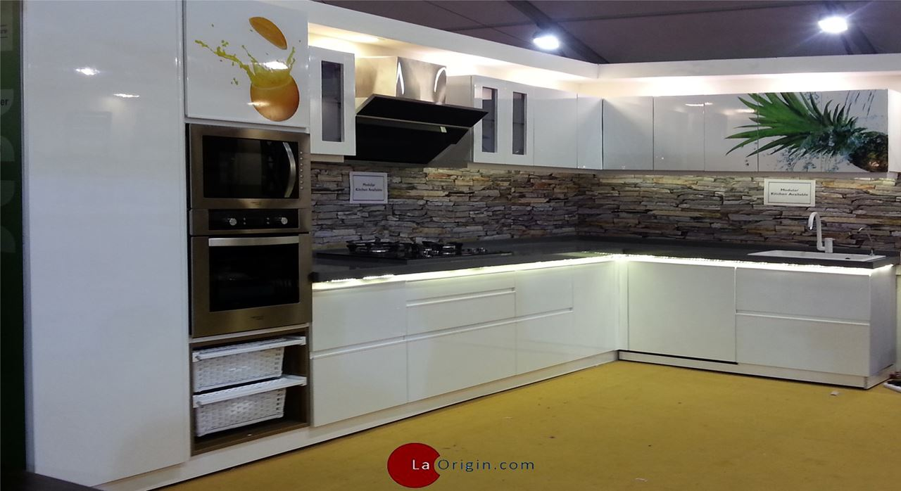 Get modern complete home interior with 20 years durability for Kitchen set name in english