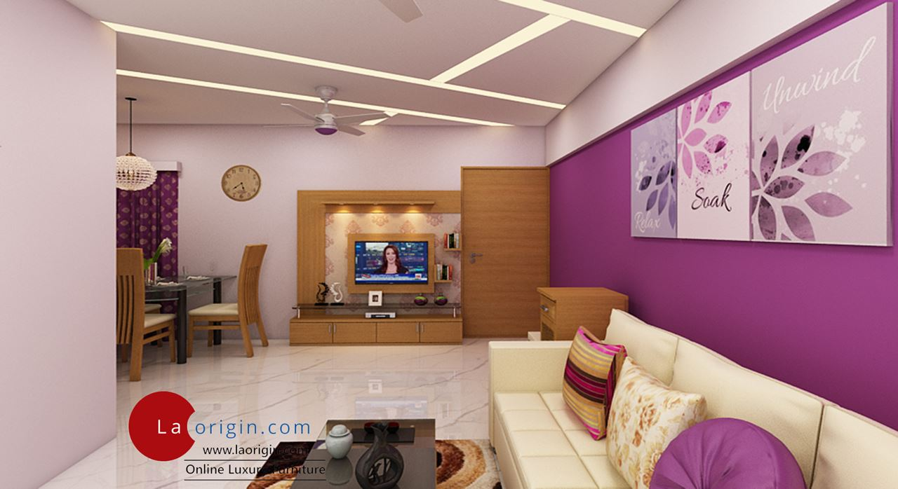 Get Modern Complete Home Interior With 20 Years Durability Modern Designs 3 Bhk