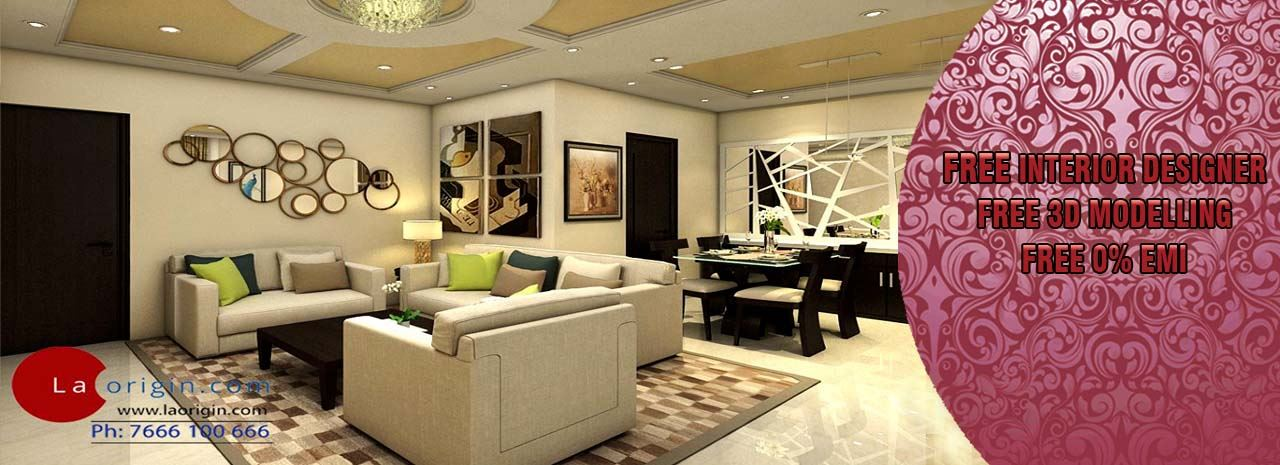 Get Modern Complete Home Interior with 20 years durability.
