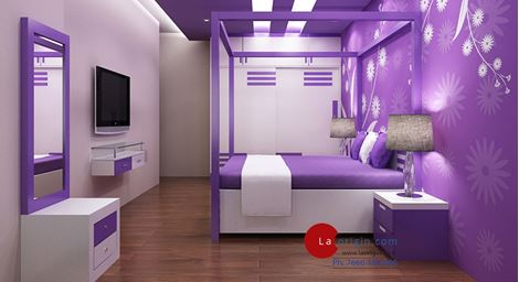 Picture of Samantha Bed Wardrobe Set